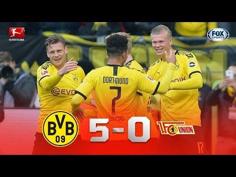 BV Ballspiel Verein Borussia Dortmund 5-0 1. FC Un...