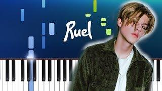 Ruel   Dazed & Confused (Piano Tutorial