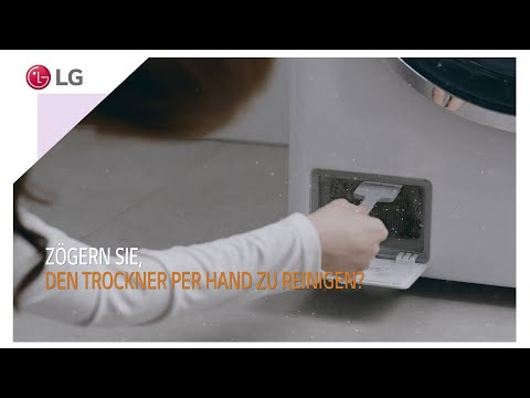 LG Trockner mit selbstreinigendem Kondensator