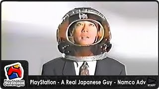 PlayStation - A Real Japanese Guy - Namco TV Commercial (1995)