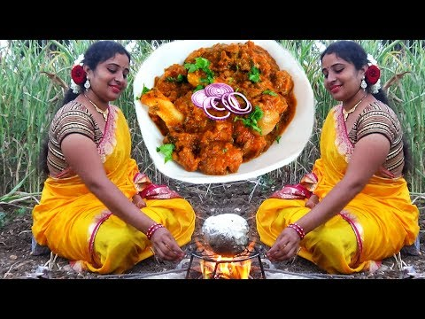 Village Foods- Amazing Traditional Mutton Eggs Recipe In Coconut- South Indian Cooking EggS Coconut