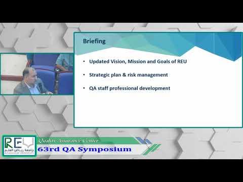 63rd QA Symposium - Part 3