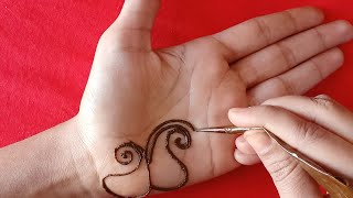 Simple Palm Mehndi Design Free Video Search Site Findclip