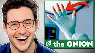Doctor Reacts To FUNNIEST Onion Medical Headlines
