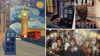 Amazing Doctor Who Fan Art (Vlog 179)