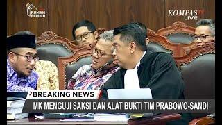 Mengulang Pertanyaan ke Saksi, Komisioner KPU Ditegur Hakim MK