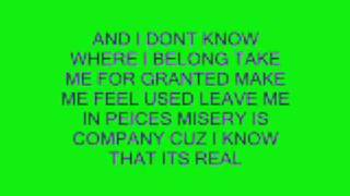 THE ONLY WAY THAT I KNOW HOW TO FEEL WITH LYRICS