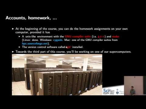 Scientific Computing for Physicists 2017 Lecture 1 - YouTube