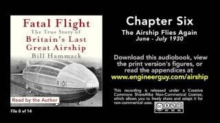 Fatal Flight audiobook: Chapter Six: The Airship Flies Again (8/14)