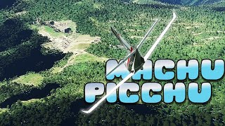 MACHU PICCHU desde el aire - Flight Simulator Gameplay Español