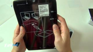 Motorola Xoom 2 Media Edition Unboxing mit  Macke