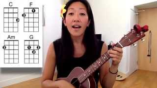 Ho Hey - The Lumineers // Beginner Ukulele Tutorial