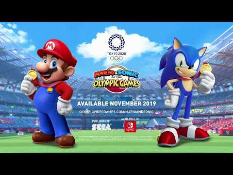 Mario and Sonic at the Olympic Games Tokyo Releasing November