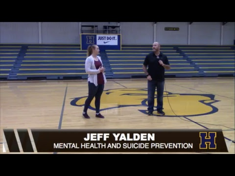 Jeff Yalden; Mental Health and Suicide Prevention