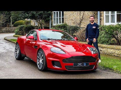 NEW Aston Martin Vanquish Restomod - V12 Manual Conversion Reimagined By Callum!