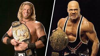 10 Best Simultaneous WWE Heavyweight Champions