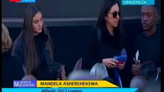 Mandela asherehekewa Afrika Kusini l Afrika Mashariki