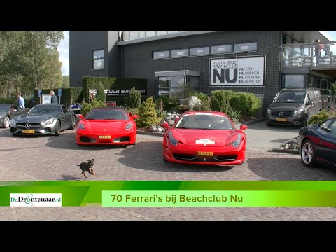 Na de Ferrari's komen zondag de Jaguar Daimlers naar Biddinghuizen