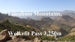 The Wolkefit Pass from Limalimo to Aksum, Ethiopia