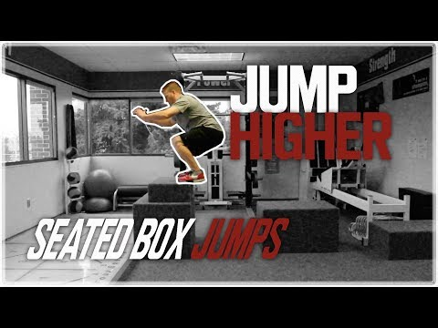Seated Box Jumps | Jump Higher & Increase Your Vertical Jump!