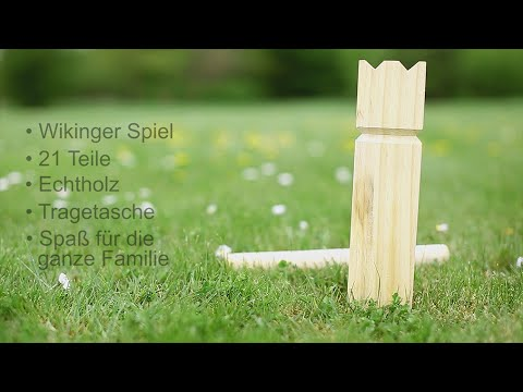 Wikingerschach Kubb Spielregeln