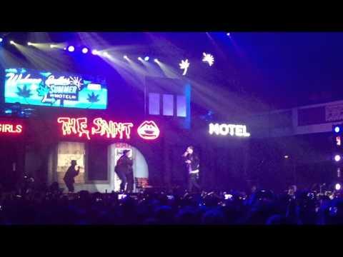 Drifting Ft. Chris Brown - G-Eazy Live @ Shrine Auditorium