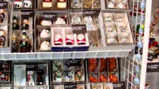 preview picture of video 'Czech glass christmas ornaments from Jablonec nad Nisou'