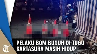 BREAKING NEWS! Pelaku Pengeboman di Tugu Kartasura Masih Hidup
