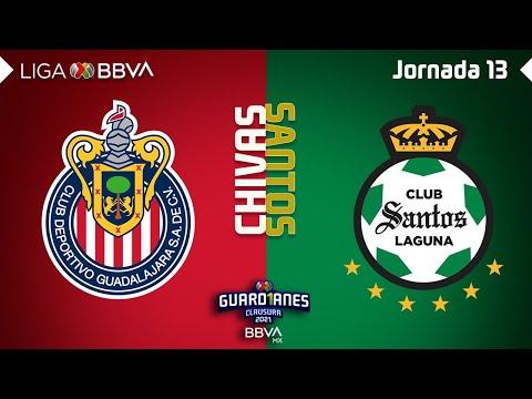 Resumen y Goles | Guadalajara vs Santos  | Liga BBVA MX – Guard1anes 2021 – Jornada 13