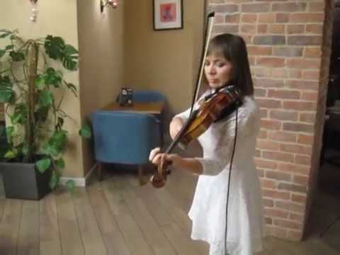 Марина Корсакова - Can You Feel The Love Tonight (Elton John violin cover)