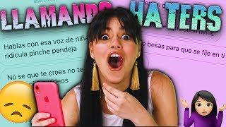 LLAMANDO A MIS HATERS por VIDEOLLAMADA ¡Son MUY CRUEL! + BROMA