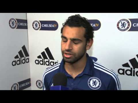 Mohamed Salah on Stoke Victory