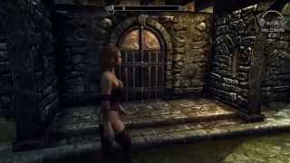 Skyrim mod Sweet and Sexy Lingerie shop CBBE by Nikitaa