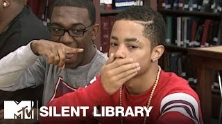 New Boyz & Iyaz Take On The Silent Library | MTV Vault