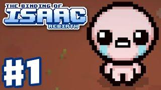 The Binding of Isaac: Rebirth - Gameplay Walkthrough Part 1 - Isaac First Run (PC)