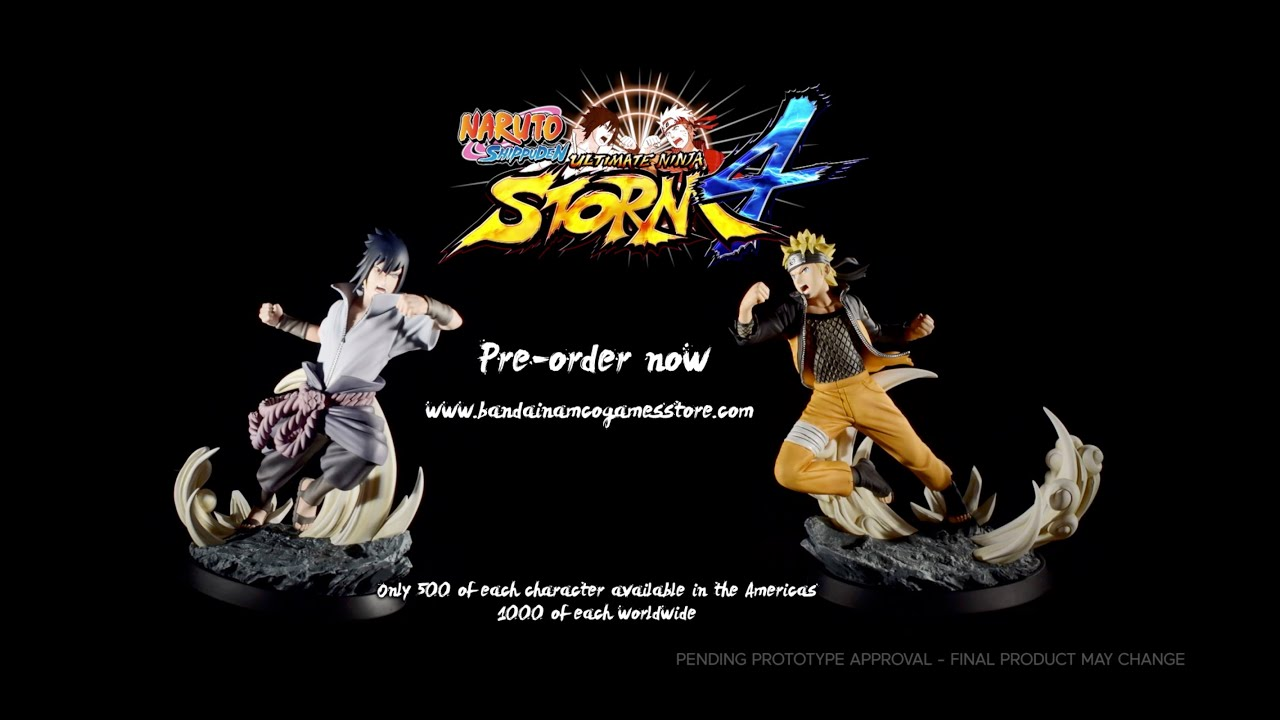 TSUME Naruto Statue video 1
