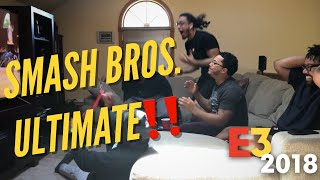 SUPER SMASH BROS. ULTIMATE FULL ROSTER + ANNOUNCEMENT FULL REACTION!! | IT ALL COMES TOGETHER!!!!