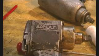 Air impact tool fix/repair. Aircat impact gun back in service.