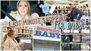 Shopping for Last-Minute Baby Things! Only a Few Weeks Until Arrival!