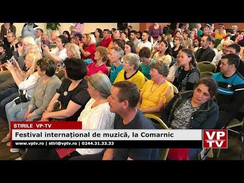 Festival internațional de muzică, la Comarnic