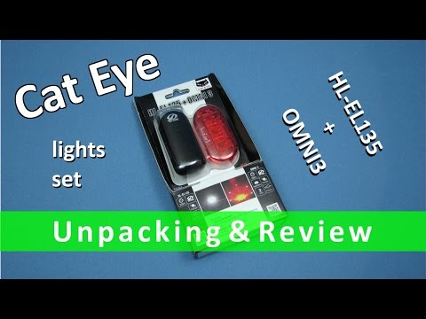 Cat Eye HL-EL135 + OMNI3 Unpacking & Review