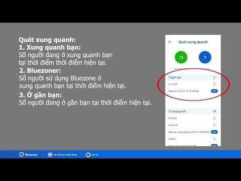 Hướng dẫn sử dụng phần mềm khẩu trang điện tử BLuezone