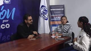 V&V entrevistan a 'Pepe' Temoltzin -Presidente Estatal de AN en Tlaxcala-
