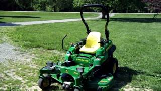 2010 John Deere Z720A Zero Turn Review and Operation