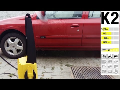Karcher K2 - Unboxing & Test