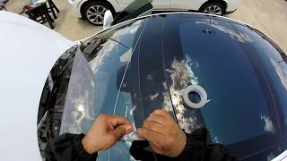 installing windshield 2013 Tesla model s