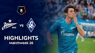 Highlights Zenit vs Krylia Sovetov (4-2)