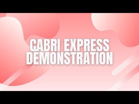 Cabri Express presentation
