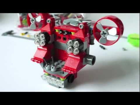 Vidéo LEGO Atlantis 8080 : L'explorateur sous-marin