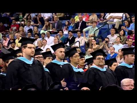 Conferring of Masters Degrees - UMass Lowell 2013 Graduate Commencement (2:31)